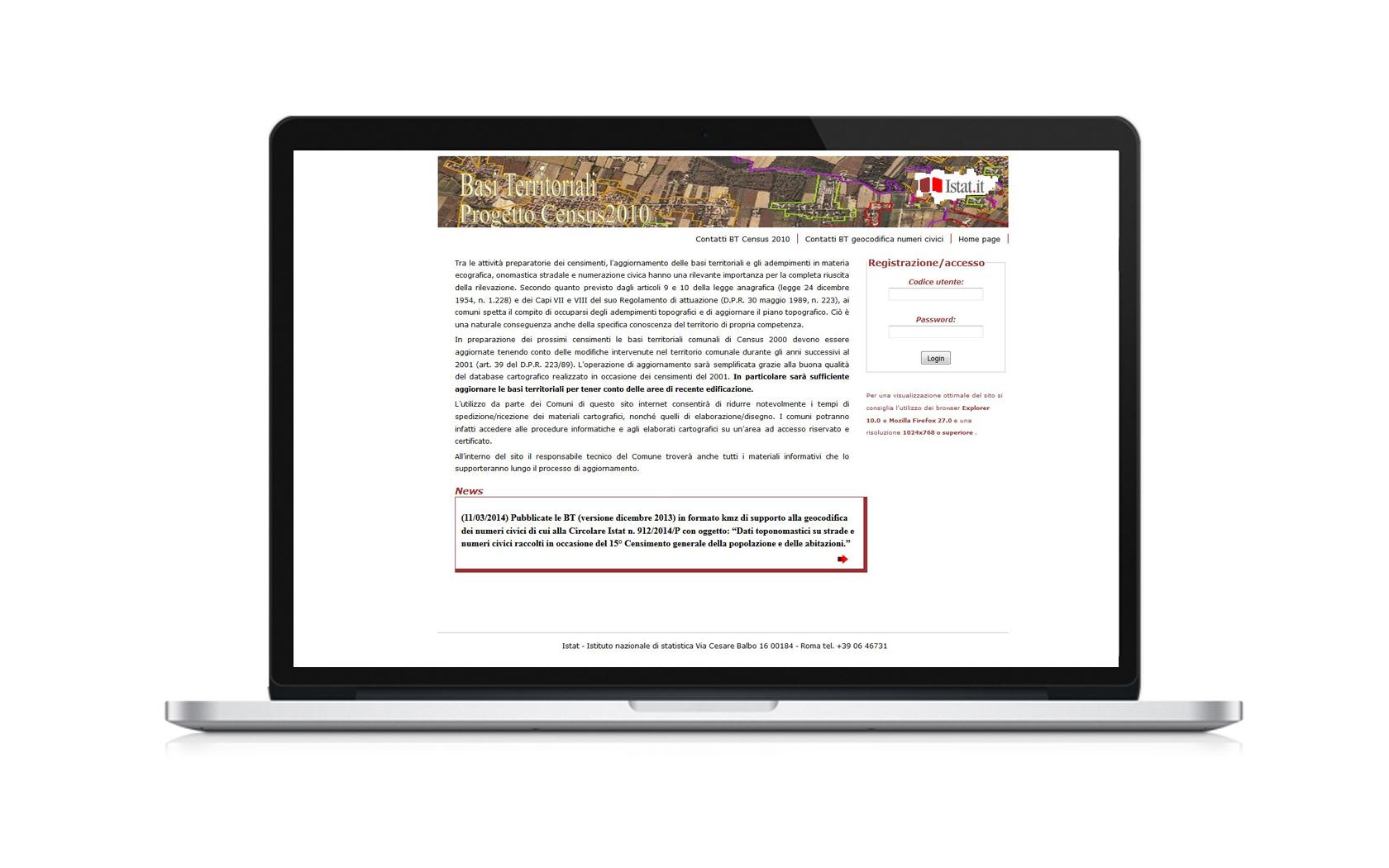 Basi territoriali homepage