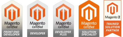 certificazioni Magento